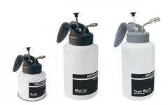 Petits pulvérisateurs avec pompe à pression en laiton nickelé